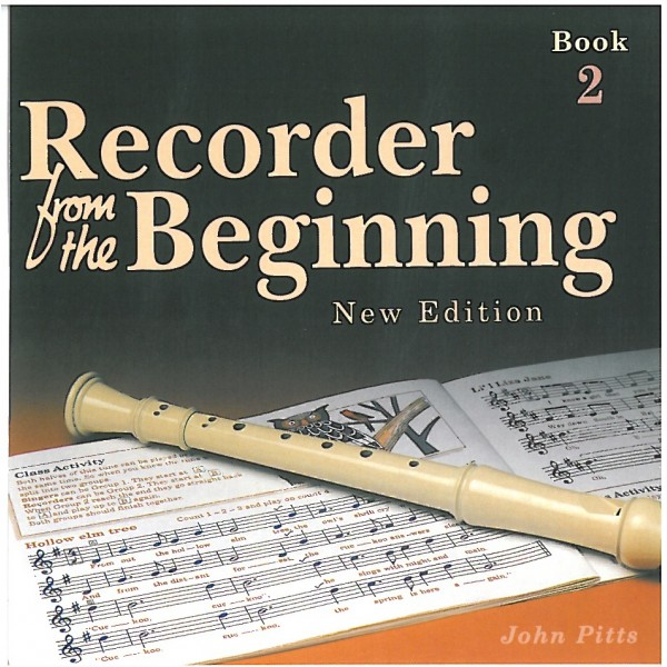 Recorder From The Beginning: Pupils Book 2 CD - Pitts, John (Author)