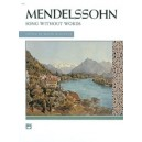 Mendelssohn, Felix - Mendelssohn -- Songs Without Words (complete)