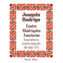 Rodrigo, Joaquin - Cuatro Madrigales Amatorios, High voice And Piano