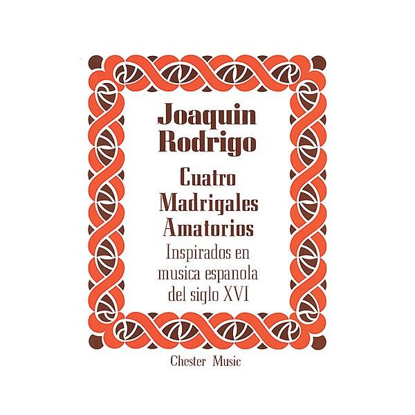Rodrigo: Cuatro Madrigales Amatorios High voice And Piano - Rodrigo, Joaquin (Artist)