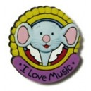 Music For Little Mozarts Mozart Mouse Pin