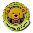 Music For Little Mozarts Beethoven Bear Pin