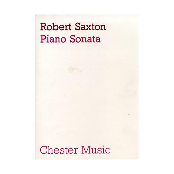 Robert Saxton: Piano Sonata - Saxton, Robert (Artist)