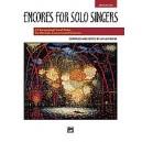 Althouse, Jay - Encores For Solo Singers - Medium Low Voice