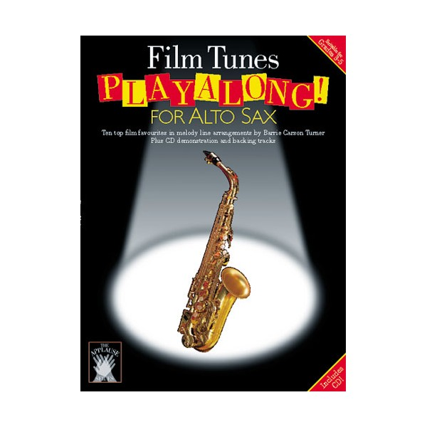 Applause: Film Tunes Playalong For Alto Sax