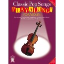 Applause: Classic Pop Songs Playalong For Violin