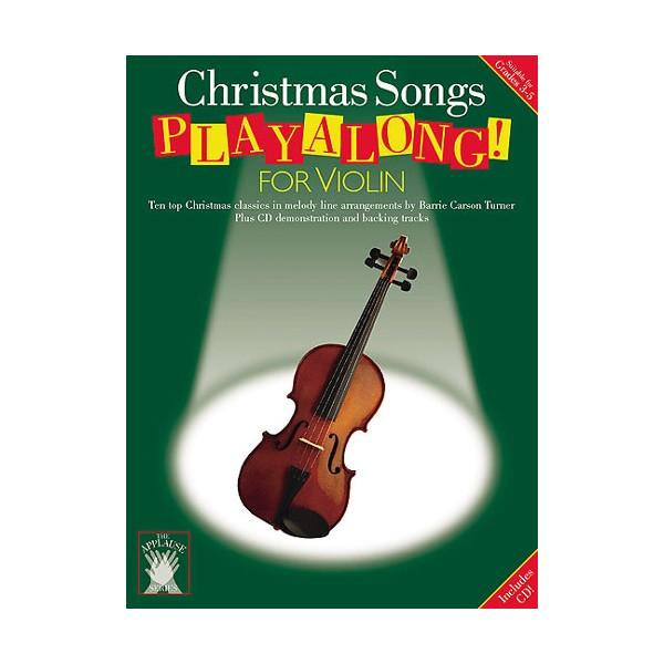Applause: Christmas Songs Playalong For Violin