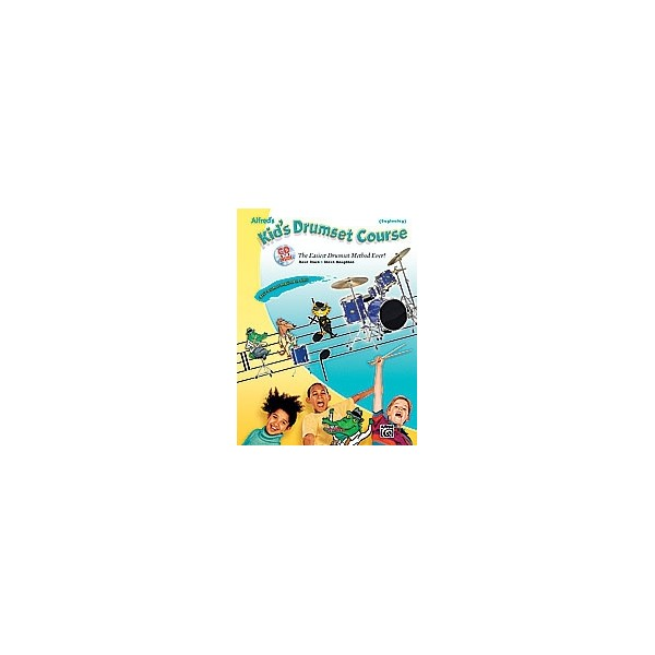 Black  - Alfreds Kids Drumset Course