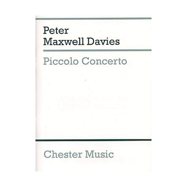 Peter Maxwell Davies: Piccolo Concerto (Study Score) - Maxwell Davies, Peter (Composer)