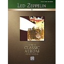 Led Zeppelin - Led Zeppelin Ii - Authentic Bass TAB
