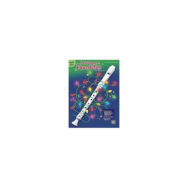 Harnsberger (arranger) - Christmas Favorites For Recorder