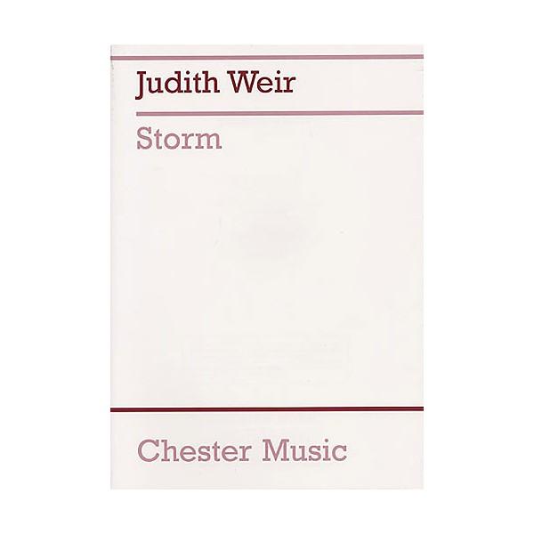 Judith Weir: Storm (Full Score) - Weir, Judith (Composer)