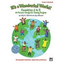 Albrecht  - Its A Wonderful World (countries A-z) - 25 Unison Songs for Young Singers (Kit)