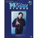 Mintzer, Bob - 14 Blues & Funk Etudes - B-Flat Instrument (Tenor Sax, Soprano Sax, Clarinet)