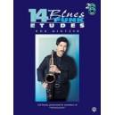 Mintzer, Bob - 14 Blues & Funk Etudes - C Instrument (Flute, Guitar, Keyboard)