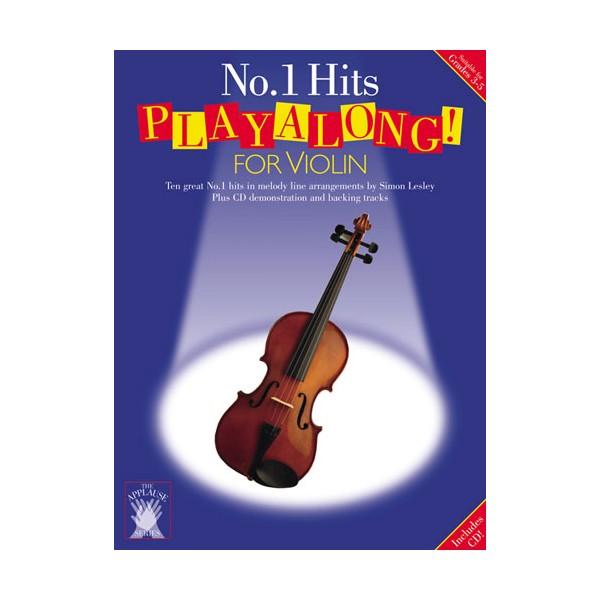 Applause: No.1 Hits Playalong For Violin