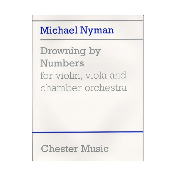 Nyman: Drowning By Numbers (Study Score) - Nyman, Michael (Composer)