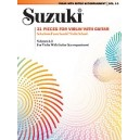 Suzuki - 21 Pieces For Violin With Guitar - Selections from Suzuki Violin School Volumes 1, 2 and 3 for Violin with Guitar Accom