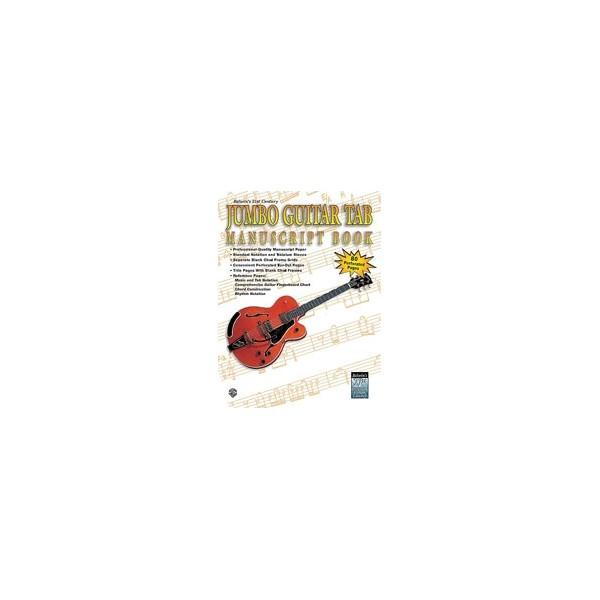 Stang, Aaron - 21st Century Jumbo Guitar Tab Manuscript Book