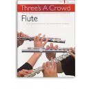 Threes A Crowd: Book 1 Flute - Power, James (Author)