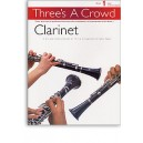 Threes A Crowd: Book 1 Clarinet - Power, James (Author)