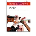Threes A Crowd: Book 1 Violin - Power, James
