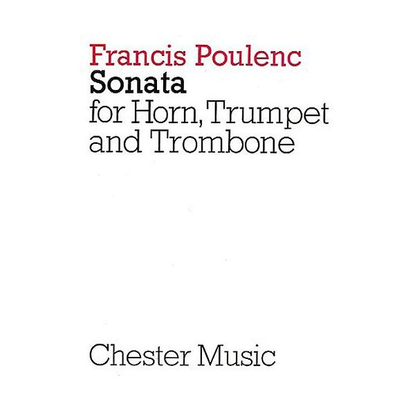 Francis Poulenc: Sonata For Horn, Trumpet And Trombone (Miniature Score) - Poulenc, Francis (Artist)