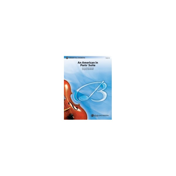 Gershwin, G, arr. Whitney, J - An American In Paris Suite