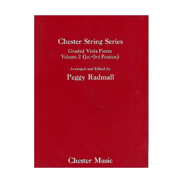 Peggy Radmall: Chester String Series Viola Book 2 (Viola/Piano) - Radmall, Peggy (Arranger)
