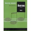 Beeler, Walter - Walter Beeler Method For The Baritone (euphonium)