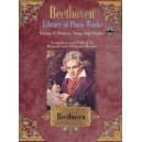 Beethoven, Ludwig van - Library Of Piano Works - Dances, Songs, & Studies
