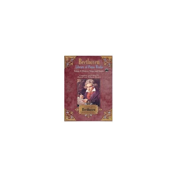 Beethoven, Ludwig van - Library Of Piano Works - Dances, Songs, & Studies