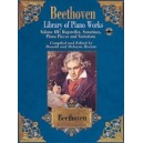 Beethoven, Ludwig van - Library Of Piano Works - Bagatelles, Sonatinas, Piano Pieces, & Variations