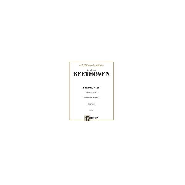 Beethoven, L, arr. Liszt, F - Symphonies - Nos. 1-5