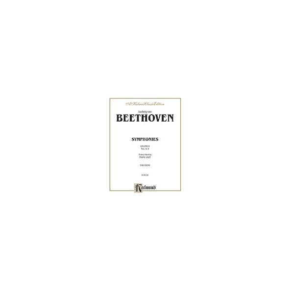 Beethoven, L, arr. Liszt, F - Symphonies - Nos. 6-9
