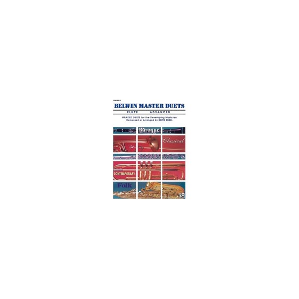Snell, Keith (arranger) - Belwin Master Duets (trumpet) - Advanced