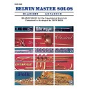 Various - Belwin Master Solos (clarinet) - Advanced