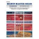 Various - Belwin Master Solos (trombone) - Intermediate