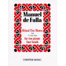 Manuel De Falla: Ritual Fire Dance (El Amor Brujo) For 2 Pianos - De Falla, Manuel (Composer)