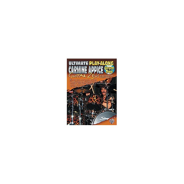 Appice, Carmine - Ultimate Play-along Drum Trax Carmine Appice Guitar Zeus