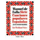 Falla, Manuel de -  7 Canciones Populares Espanolas: For Medium Voice