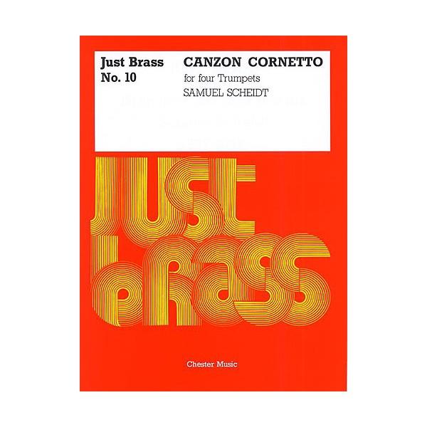 Jb 10  Scheidt  Canzon Cornetto (jones)  4 Tpt  Sc/pts - Scheidt, Samuel (Artist)