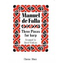 Three Pieces for Harp - De Falla, Manuel (Composer)