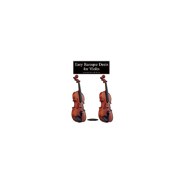 Barlow, Betty - Easy Baroque Duets For Violin