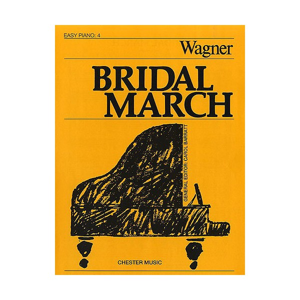 Bridal March (Easy Piano No.4) - Wagner, Richard (Artist)