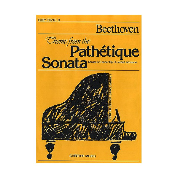 Theme from the Pathetique Sonata (Easy Piano No.9) - Beethoven, Ludwig Van (Artist)