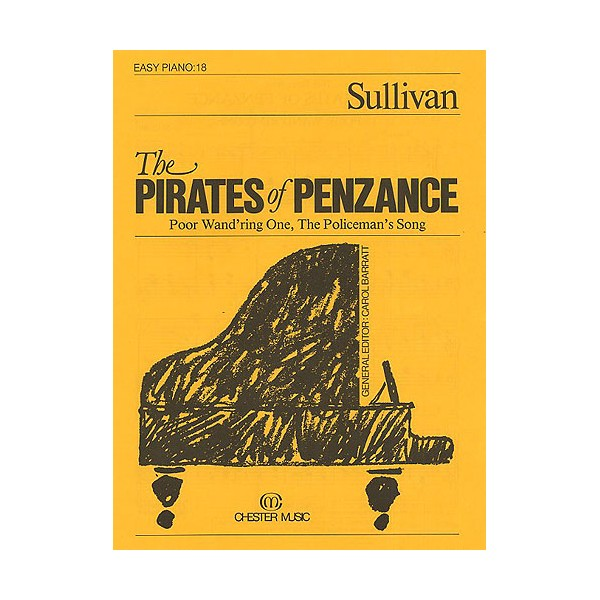 The Pirates of Penzance (Easy Piano No.18) - Sullivan, Arthur Seymour (Artist)