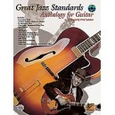 Various - Great Jazz Standards Anthology For Guitar