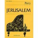 C. Hubert Parry: Jerusalem (Easy Piano No.26) - Parry, Charles Hubert Hastings (Artist)