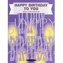 Happy Birthday To You - Piano/Vocal